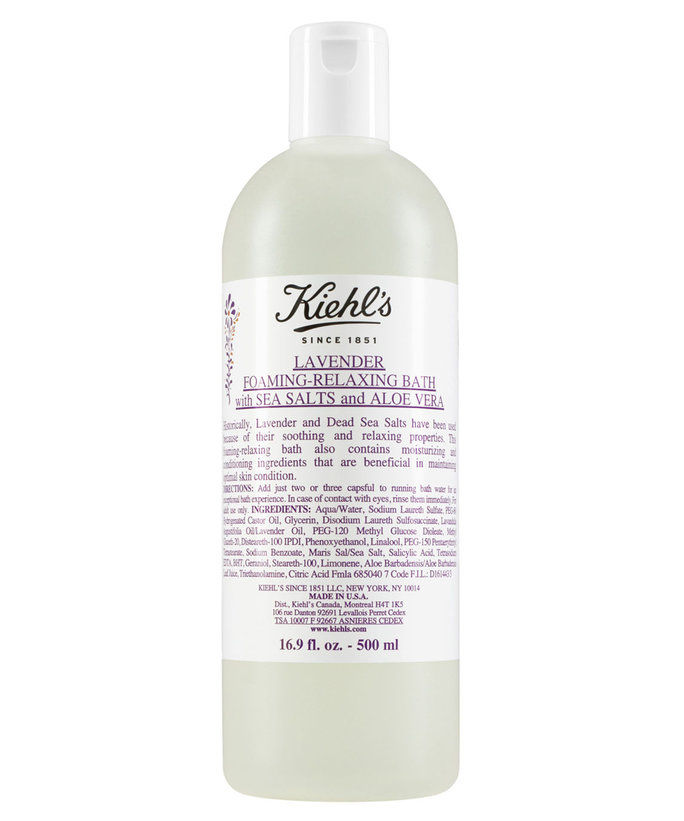 Киехл's Lavender Foaming-Relaxing Bath With Sea Salts And Aloe