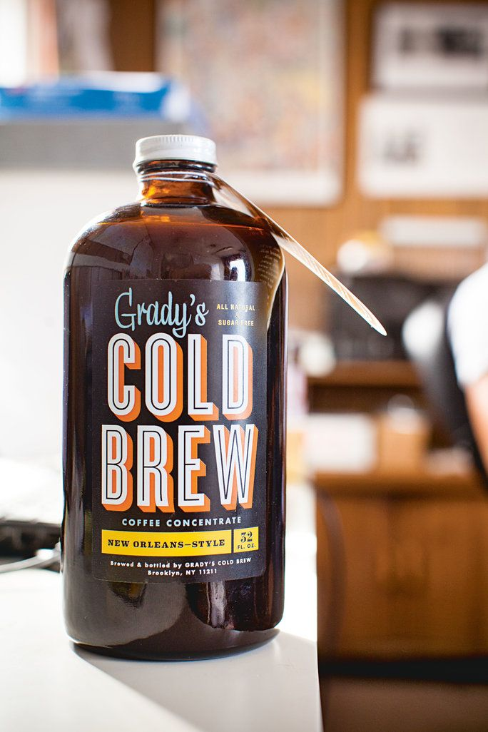 Гради's Cold Brew Coffee