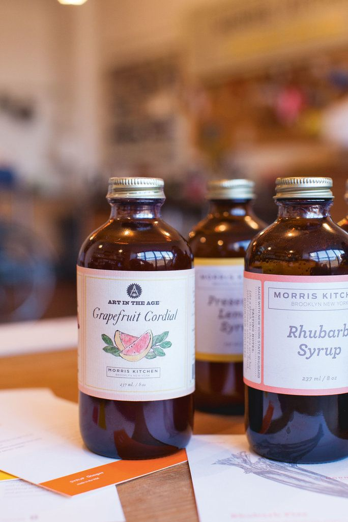 Моррис Kitchen's Cocktail Syrups