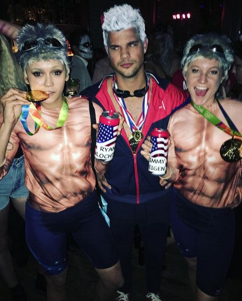 Нина Dobrev and Taylor Lautner