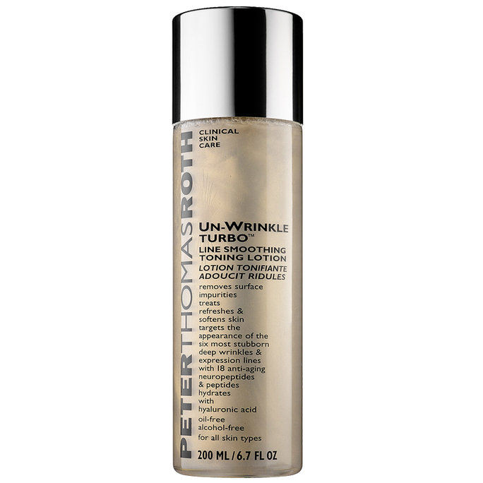 Против старења: Peter Thomas Roth Un-Wrinkle Turbo Line Smoothing Toning Lotion