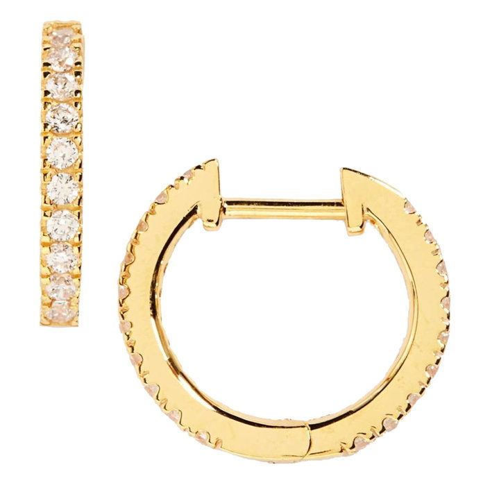 صغير Hoop Earrings