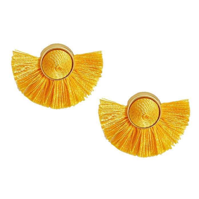رقصة التانغو Fringe Stud Earrings