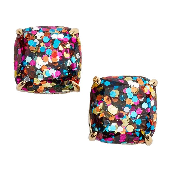 مصغرة Square Stud Earrings