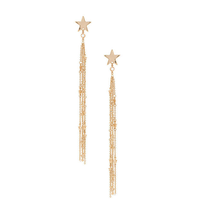 اطلاق الرصاص Star Tassel Earrings