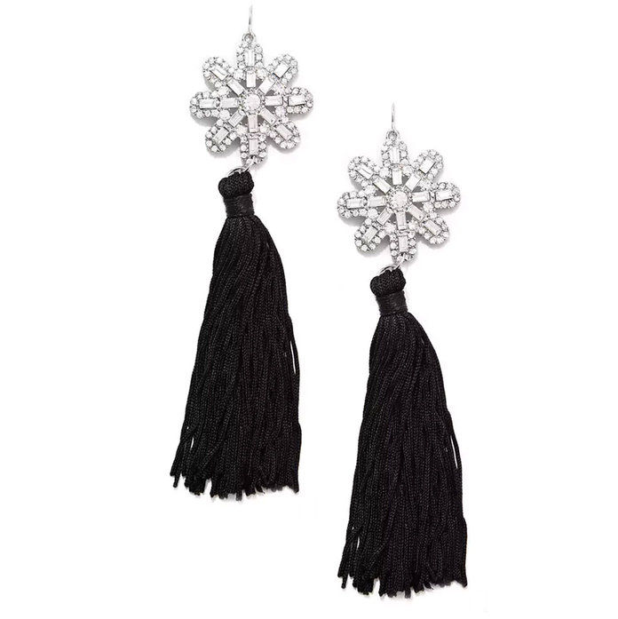 حجر الراين Drop Earrings