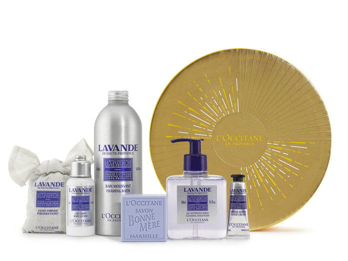 Л'Occitane Holiday Collection Lavender Set