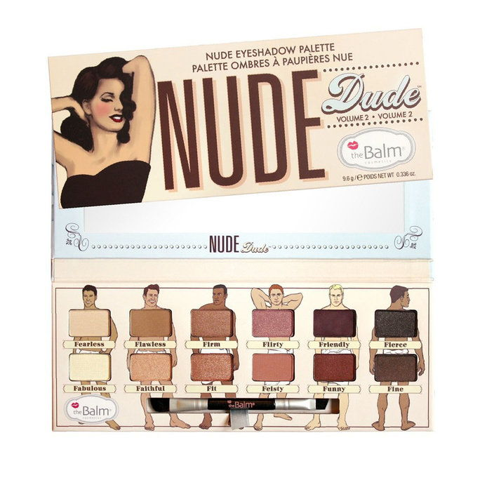 ذا بالم Nude 'dude Eyeshadow Palette