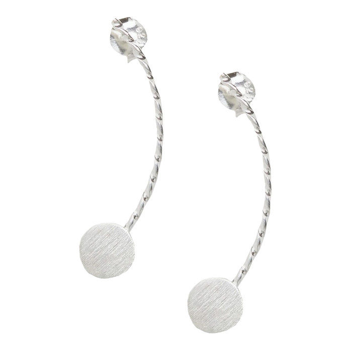 الجنيه الإسترليني Silver TWister Round Ear Crawler