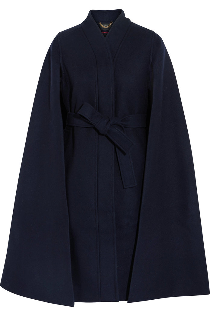 ا wool cape coat for refreshing silhouette by J.Crew