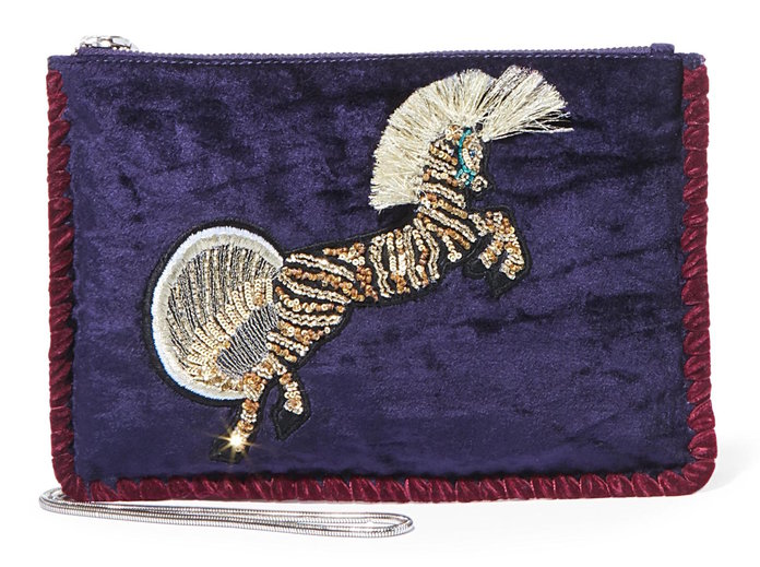 ا statement clutch to pair with jeans and eveningwear by Steve madden