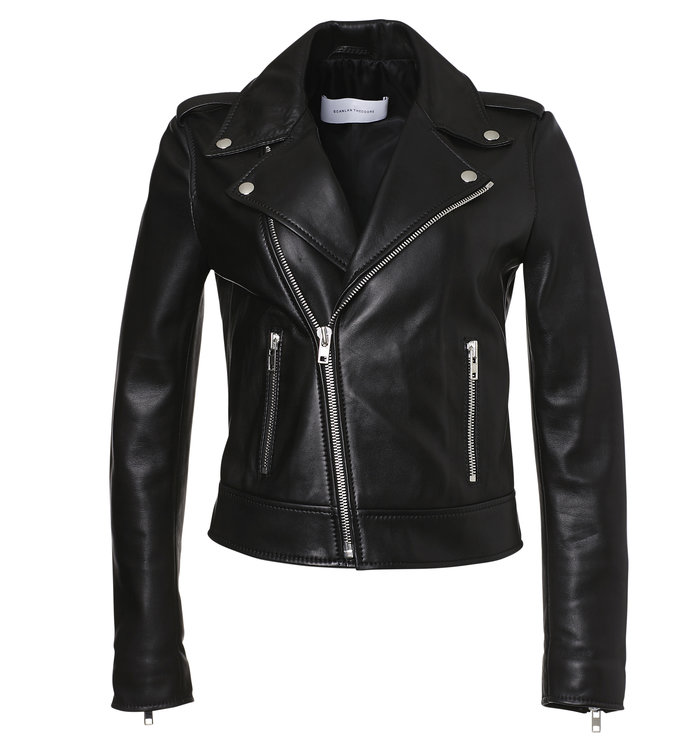 ال perfect leather jacket for layering by Scanlan Theodore