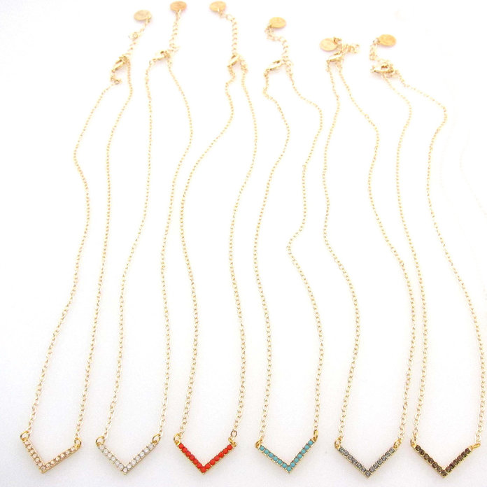 لذيذ necklaces to mix and match by Jessica Elliot