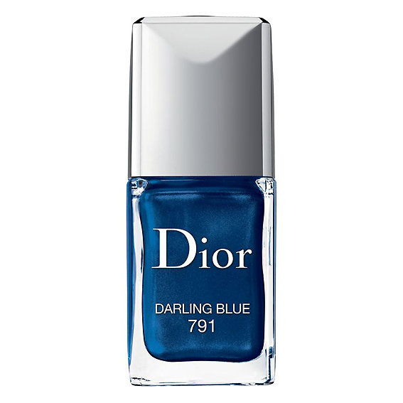Диор Vernis Gel Shine and Long Wear Lacquer in Darling Blue