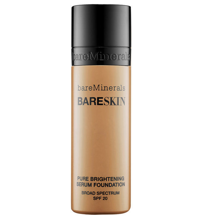 المعادن العارية BareSkin Pure Brightening Serum Foundation Broad Spectrum SPF 20