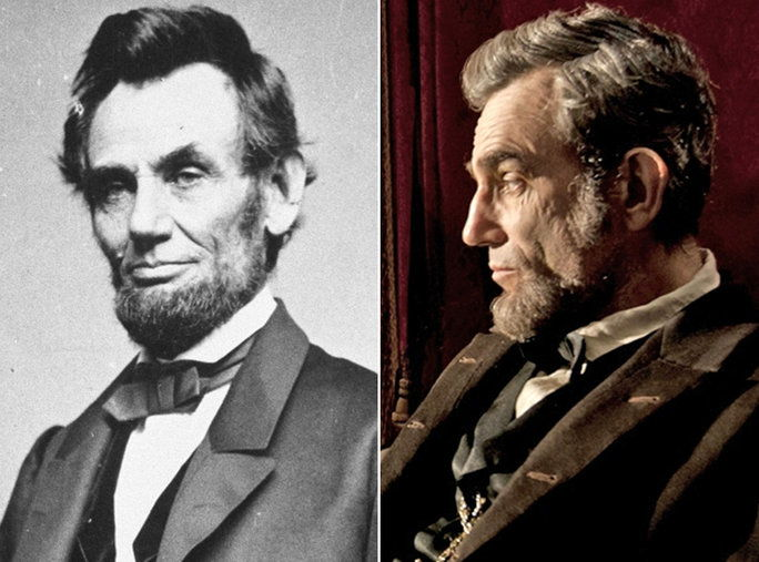 دانيال Day-Lewis as Abraham Lincoln