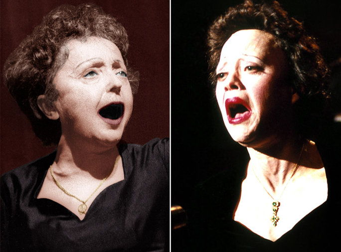 ماريون Cotillard as Edith Piaf