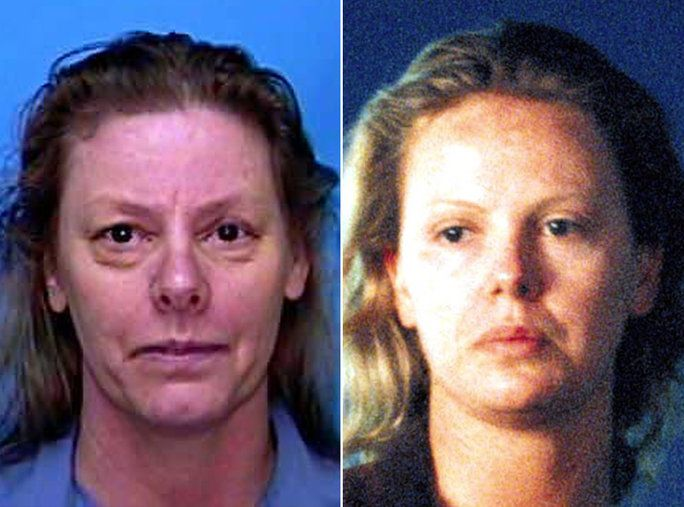 تشارليز Theron as Aileen Wuornos