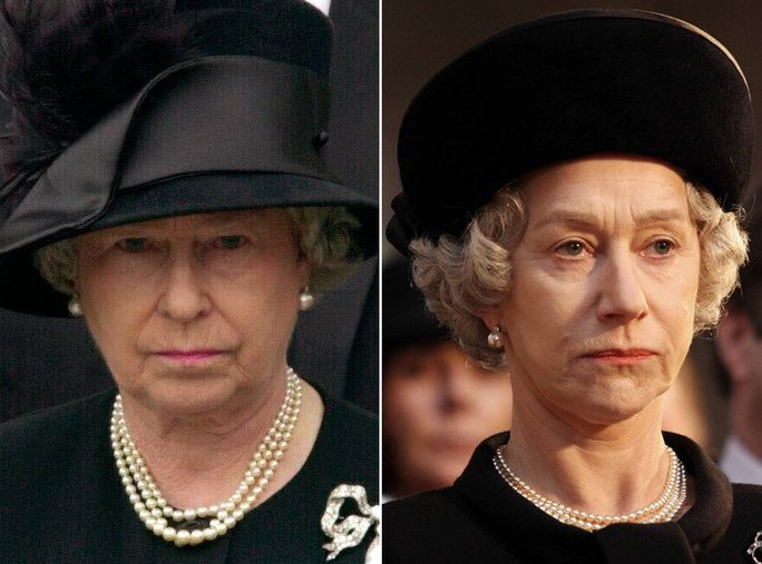 هيلين Mirren as Queen Elizabeth II