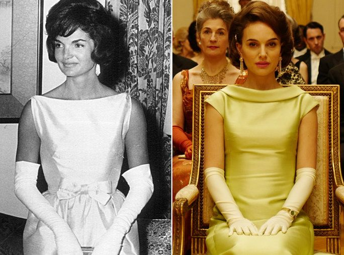 ناتالي Portman as Jackie Kennedy