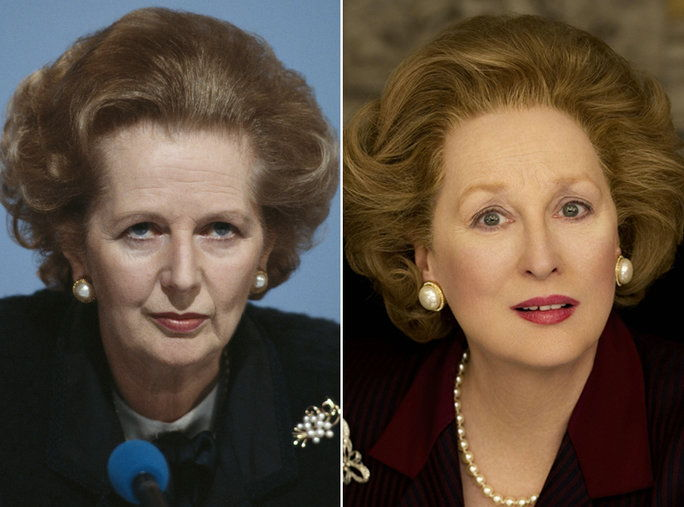 ميريل Streep as Margaret Thatcher
