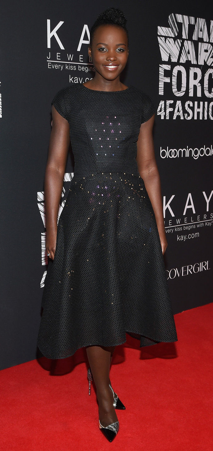 ممثلة Lupita Nyong'o attends the Star Wars
