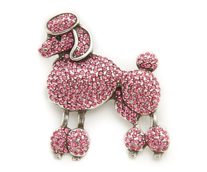 مارك Jacobs Small Poodle Brooch