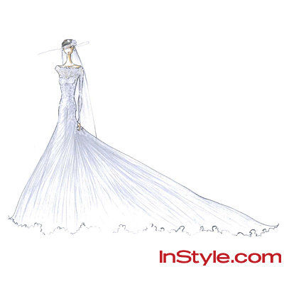 Мода Designers Sketch Kate Middleton's Wedding Dress - Pamella Roland