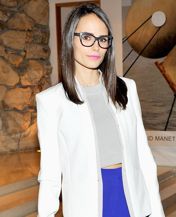 المشاهير in Glasses: Jordana Brewster