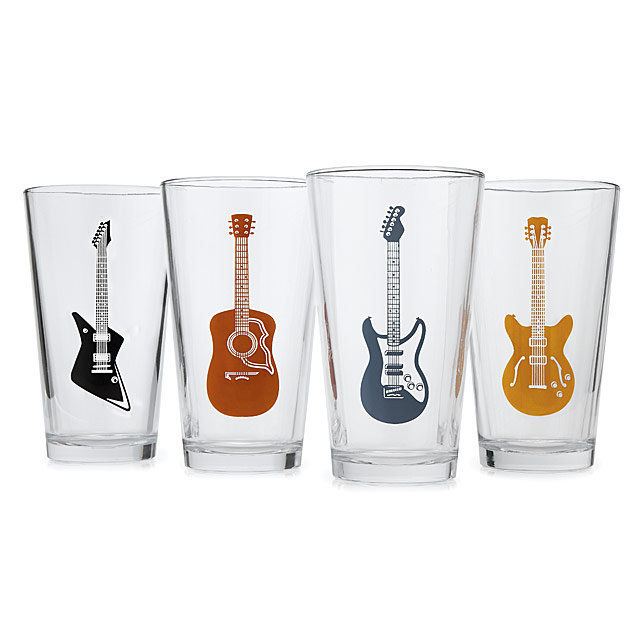 غيتار Glasses - Set of 4