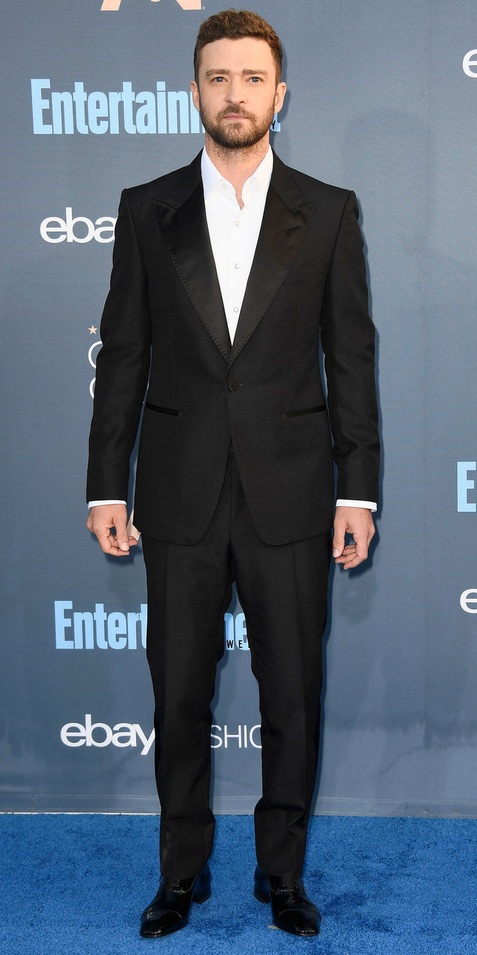 Глумац Justin Timberlake attends The 22nd Annual Critics' Choice Awards at Barker Hangar on December 11, 2016 in Santa Monica, California.