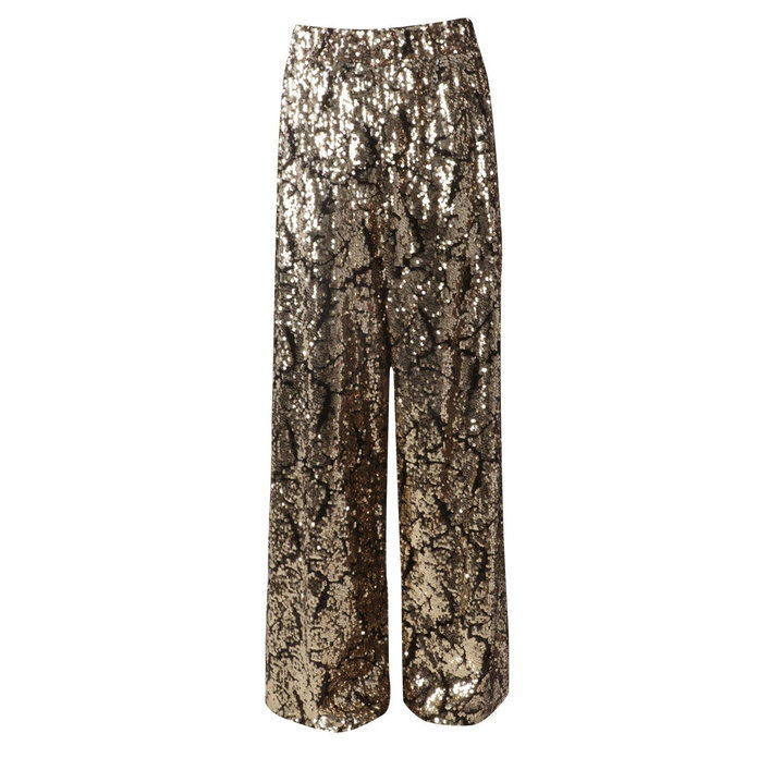 Премиум Kate Sequin Wide Leg Trousers