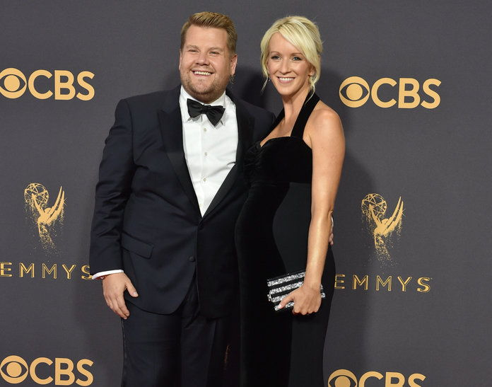 Џејмс Corden and Wife - LEAD