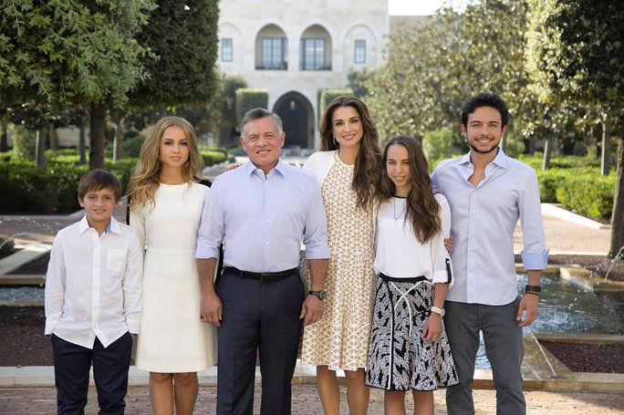 Тхе Jordanian Royal Family, 2015