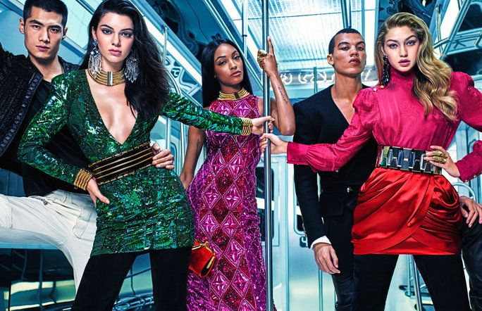 Тхе Entire Balmain x H&M Collection
