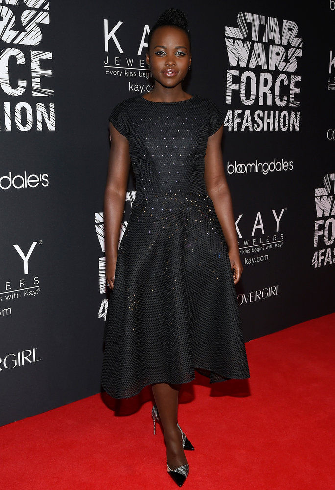 وبيتا Nyong'o in Zac Posen x Google on Dec. 2, 2015
