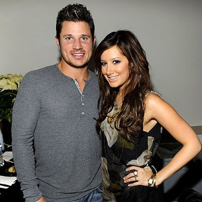 Ницк Lachey and Ashley Tisdale, 2008 Z100 Jingle Ball, New York City