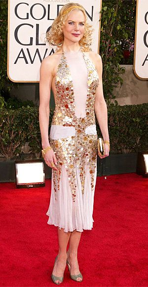 Ницоле Kidman - The 12 Riskiest Golden Globes Looks Ever - YSL Rive Gauche by Tom Ford