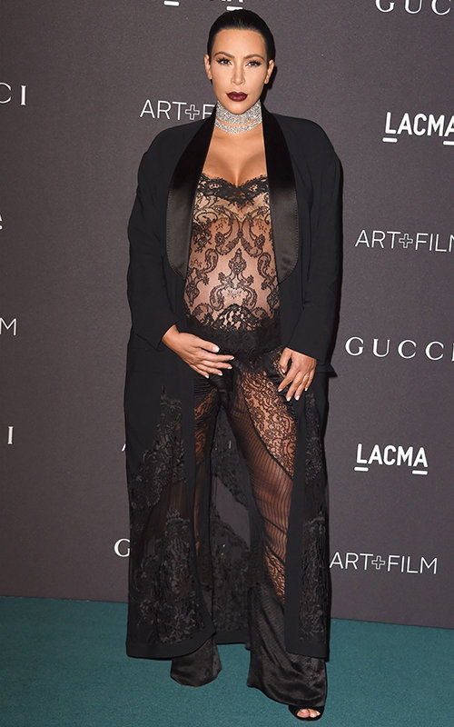 Ким Kardashian in Givenchy