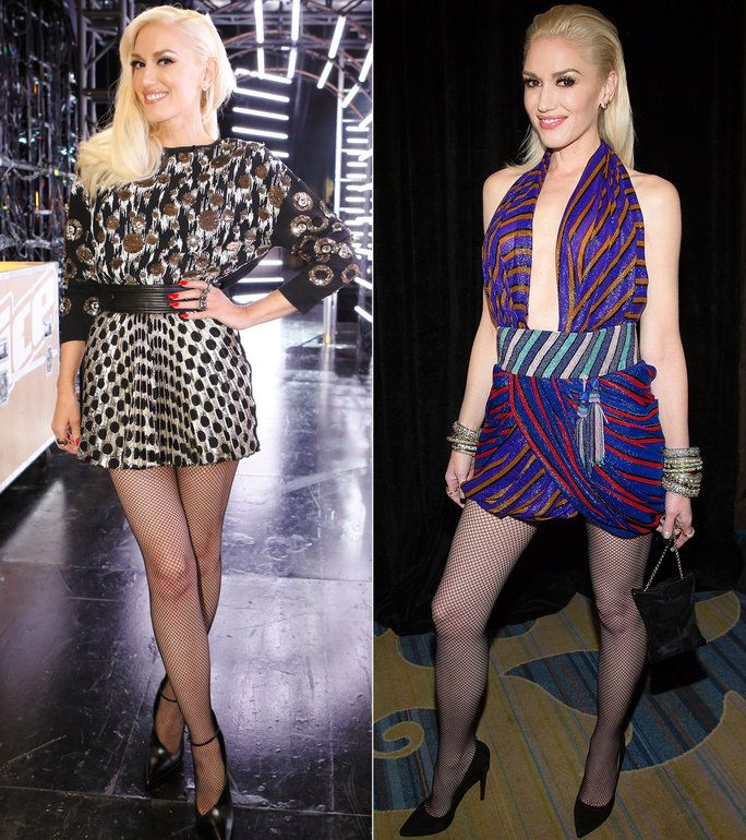 Носити Fishnets Like Gwen Stefani Lead