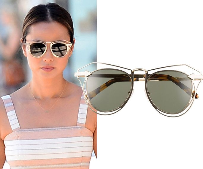 Јамие Chung in Karen Walker Eyewear sunglasses