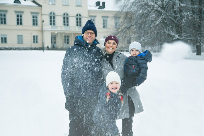 Круна Princess Victoria, Prince Daniel, Princess Estelle, and Prince Oscar of Sweden, 2017