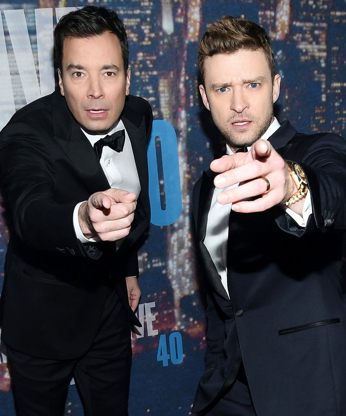 Јимми Fallon and Justin Timberlake