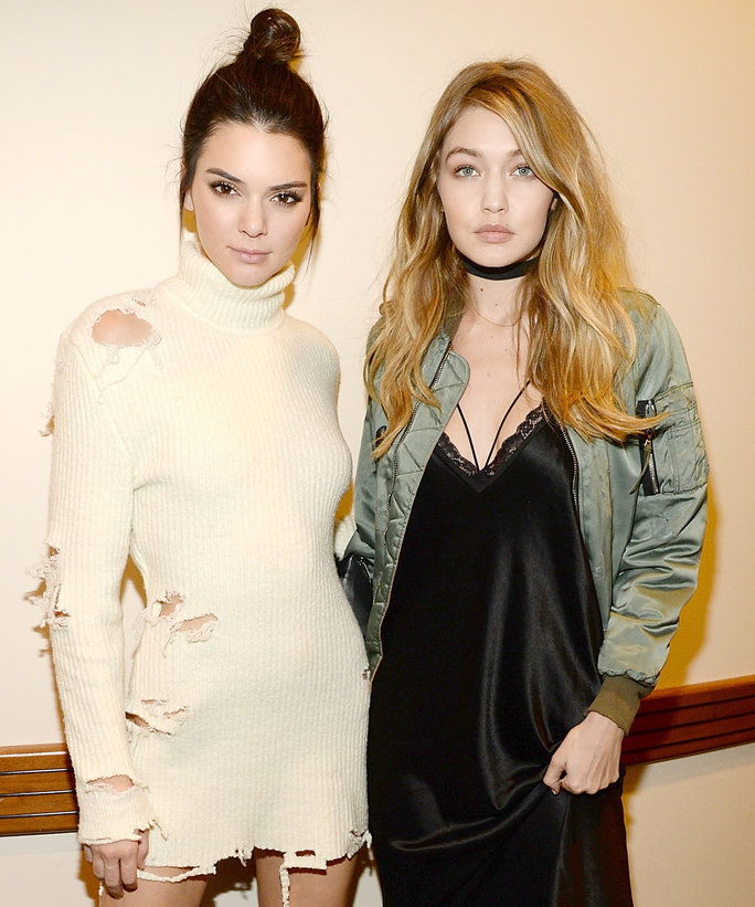 Кендалл Jenner and Gigi Hadid