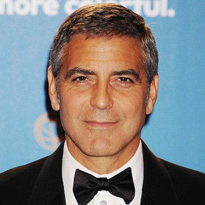 جورج Clooney, transformation, shaving, celebrity hair