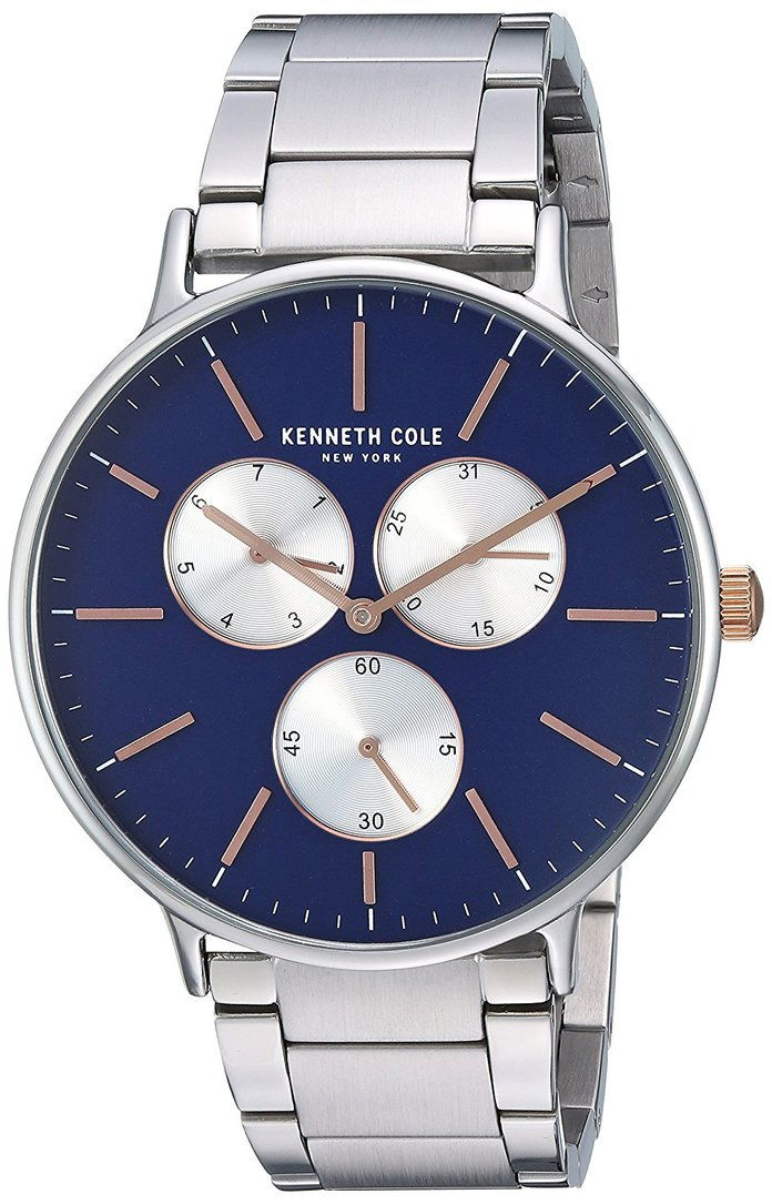 كينيث Cole New York Men's 'Sport' Quartz Stainless Steel Dress Watch