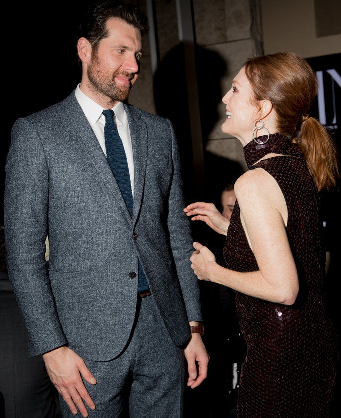 Билли Eichner and Julianne Moore