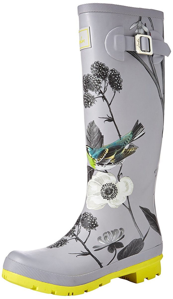 Јоулес Welly Print Rain Boot in Birdberry