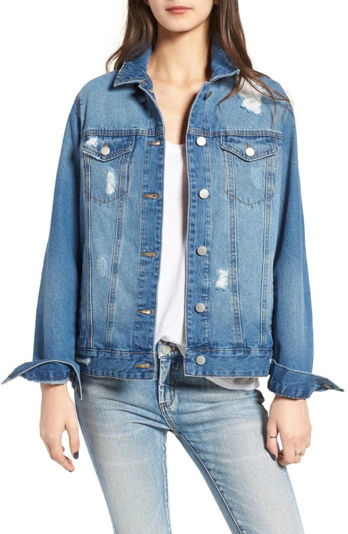 БП. Denim Trucker Jacket