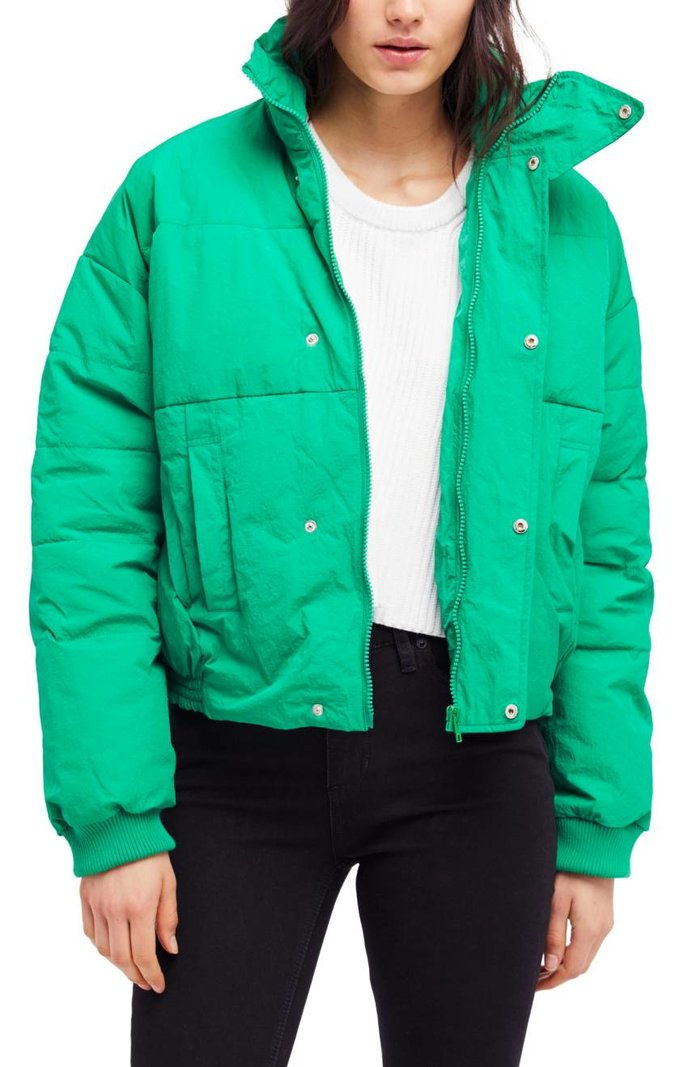 бесплатно People Cold Rush Puffer Jacket